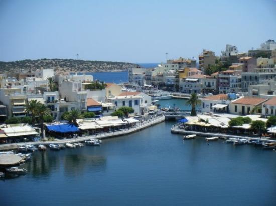 Agios Nikolaos, กรีซ: Aghios Nikolaos Lake