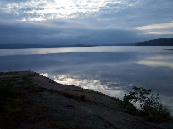 แอลกอนควินพาร์ค, แคนาดา: What a beautiful morning!