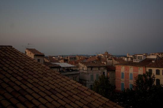 Hôtel du Forum: Vue sur les toits