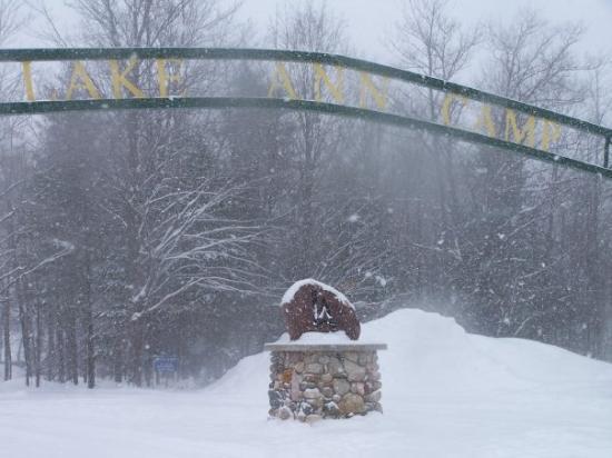 Lake Ann sign