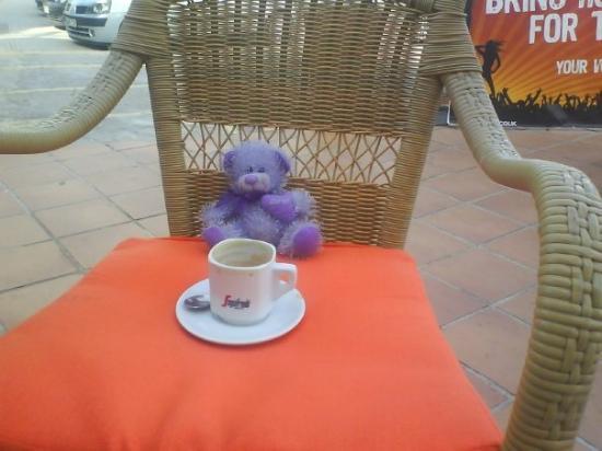 ปัลมาเดมายอร์กา, สเปน: goerge avin spanish coffee mmmmm
