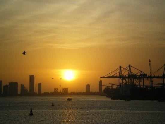 การ์ตาเคนา, โคลอมเบีย: Atardecer en Cartagena