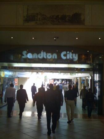 โจฮันเนสเบิร์ก, แอฟริกาใต้: Sandton City