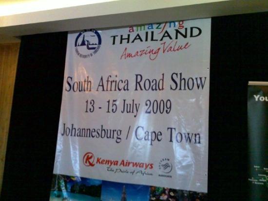 โจฮันเนสเบิร์ก, แอฟริกาใต้: Road Show