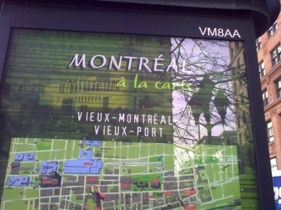 มอนทรีออล, แคนาดา: Montreal Map