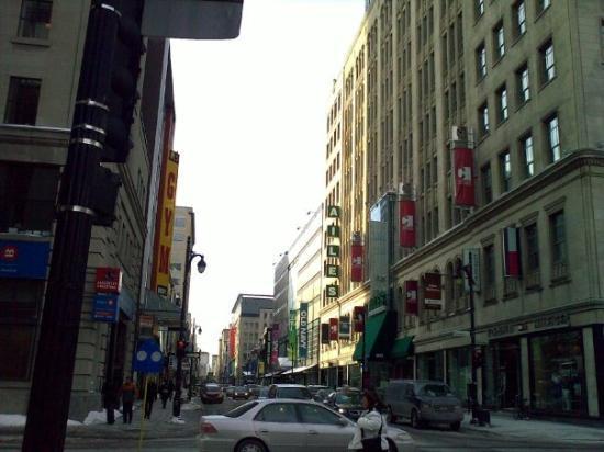 มอนทรีออล, แคนาดา: Shopping Street