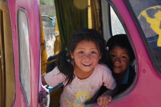 Ayacucho, เปรู: Una chicita y uno chicito