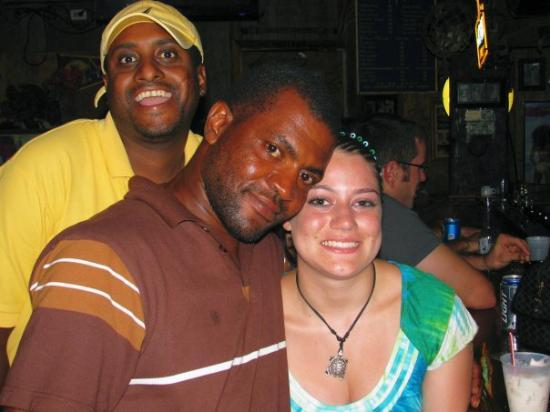 Grand Bahama Island: Rico, Neil and Katie