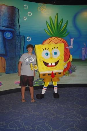 ยูนิเวอร์ซัล ออร์แลนโด รีสอร์ท: Me and spongebob!