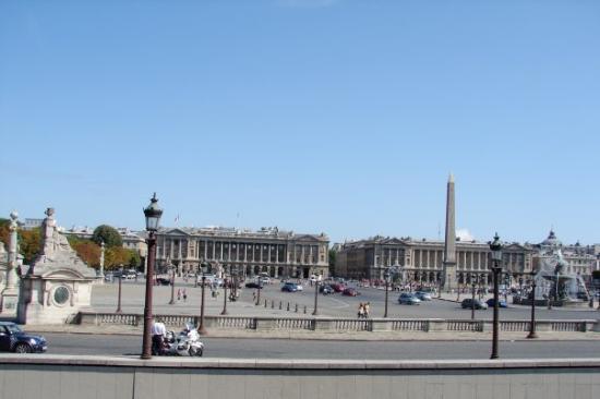 Place de la Concorde: Ago 09: Plaza de la Concordia.