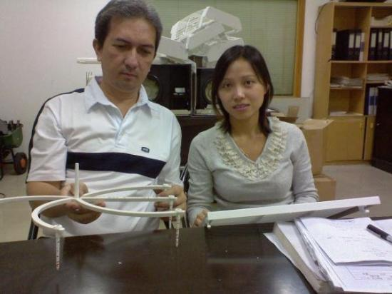 เซินเจิ้น, จีน: with Lucy of Shun Hing Plastics China Nov. 2008