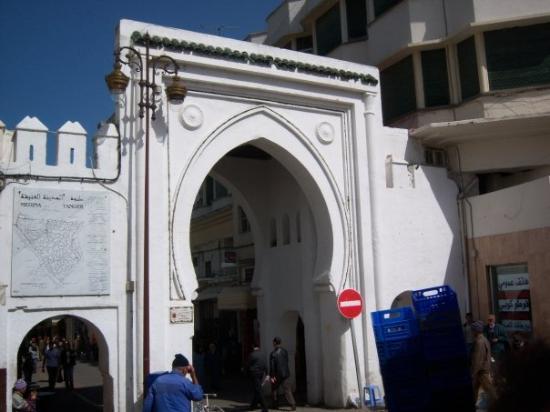 แทนเจียร์, โมร็อกโก: entrance to the Kazbah