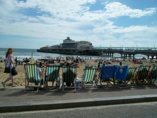 Bournemouth (เมืองโบร์นมุธ), UK: Bournemouth sea front