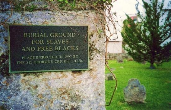 เบอร์มิวดา: Says it all.  Bermuda was a stopover place for slaves.