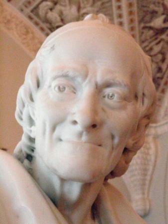 เซนต์ปีเตอร์สเบิร์ก, รัสเซีย: Voltaire looks like an interesting fella. You can see the humor in his face.