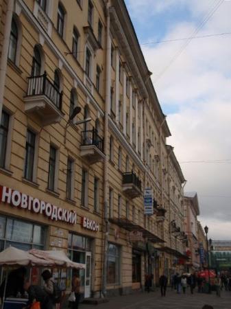 เซนต์ปีเตอร์สเบิร์ก, รัสเซีย: Dostoevsky's neighborhood.