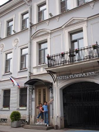 โรงแรม ปุชกา อินน์: Welcome to the Pushka Inn. We hope you enjoy your stay.