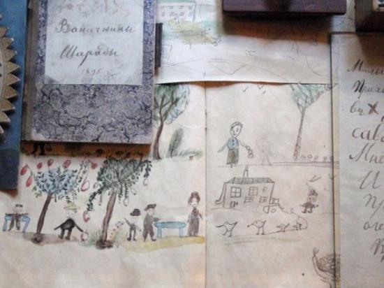 L. Tolstoi's Khamovniki Memorial Estate: Creative work of  Vania Tolstoy  1895 – Death at age six of beloved youngest son Ivan (Vanechk