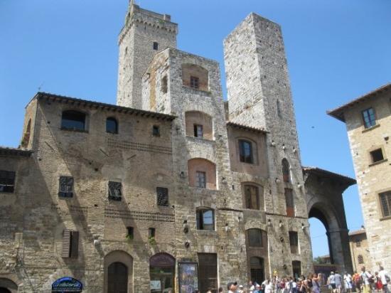 ซานจิมิกนาโน, อิตาลี: The famous towers of San Gimignano