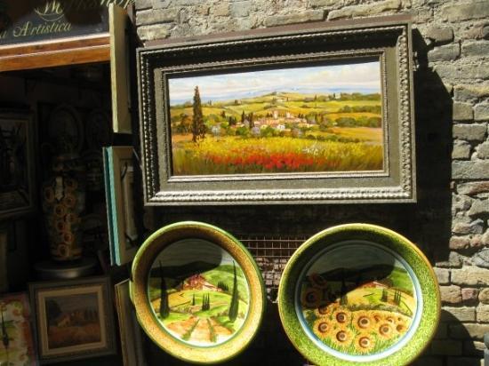 ซานจิมิกนาโน, อิตาลี: Some of the art in San Gimigniano