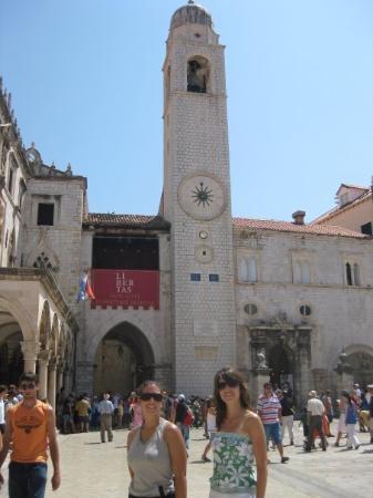 ดูบรอฟนิก, โครเอเชีย: DUBROVNIK_Torre del reloj