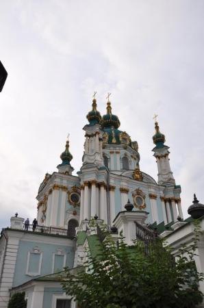 Andriyivski Uzviz: Saint Andriy