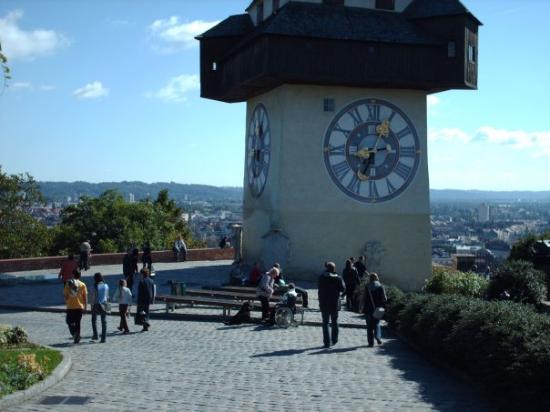 แกรซ, ออสเตรีย: Mjesto odakle puca pogled na cijeli Graz