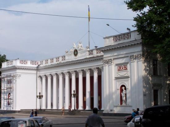 โอเดสซา, ยูเครน: Mairie d'Odessa