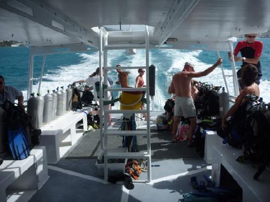 Scuba Fun Dive Center: The boat