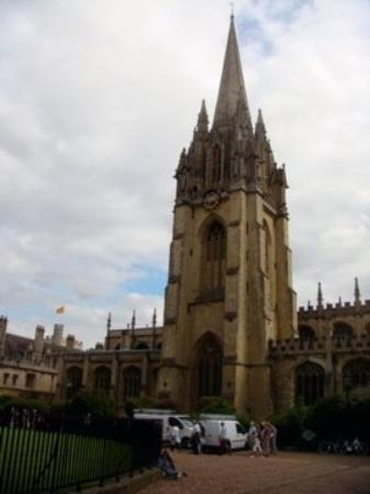 อ๊อกซฟอร์ด, UK: St. Mary's Church