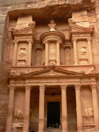 เปตรา/วาดีมูซา, จอร์แดน: The Treasury - Petra