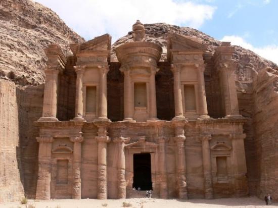 เปตรา/วาดีมูซา, จอร์แดน: The Monastery - Petra