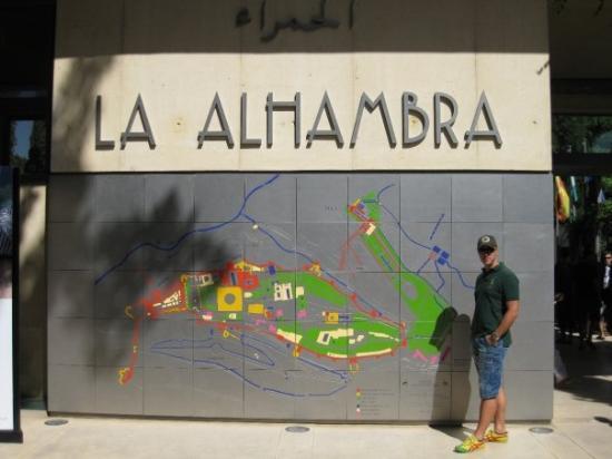 กรานาดา, สเปน: l'ingresso dell'Alhambra di Granada