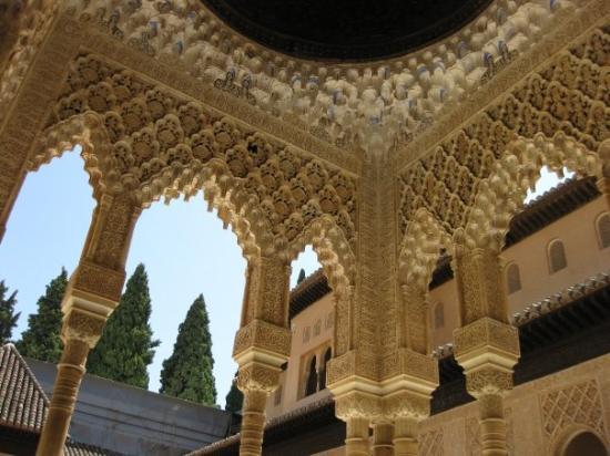 กรานาดา, สเปน: particolare del palazzo Nasrid