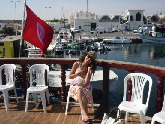 เกาะเจอร์บา, ตูนิเซีย: MARINA  Djerba, early in the morning on board!