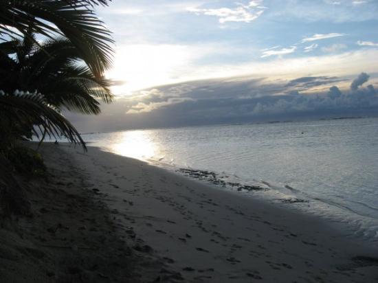 Savai'i, ซามัว: sunset... bliss