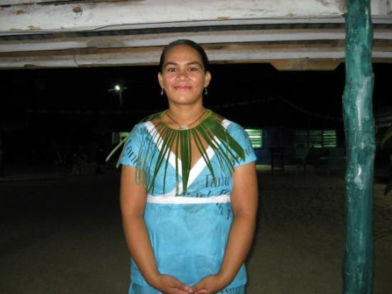 Savai'i, ซามัว: Local samoan girl