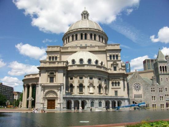 บอสตัน, แมสซาชูเซตส์: The first Chuch of christ, scientist. Boston