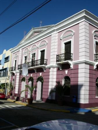 Antigua Casa Alcaldia de Arecibo.