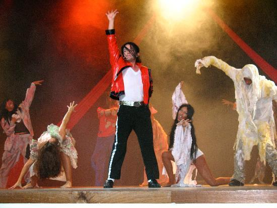 Excellence Playa Mujeres: Michael Jackson