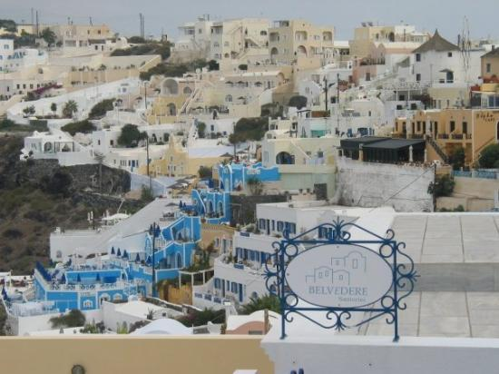 ฟิร่า, กรีซ: It's difficult to get a bad picture in Fira, Santorini, Greece (Oct 13 06).