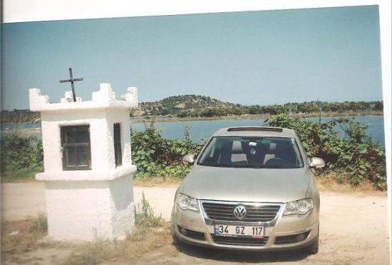 Thassos Town (Limenas), กรีซ: Dindar passat