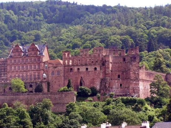 ไฮเดลเบิร์ก, เยอรมนี: Heidelberg Castle