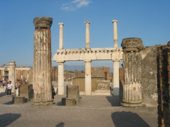 The ancient city of Pompeii, Italy (Oct 10 06).