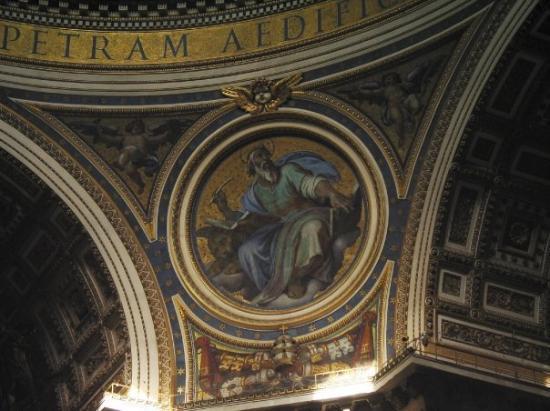 นครวาติกัน, อิตาลี: St Peter's Basilica, Vatican City (Oct 06).