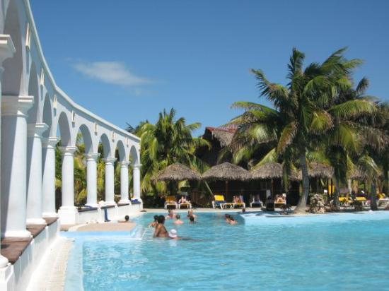 บาราเดโร, คิวบา: The pool, at the Iberostar Playa Alameda, Varadero, Cuba (Sep 08).