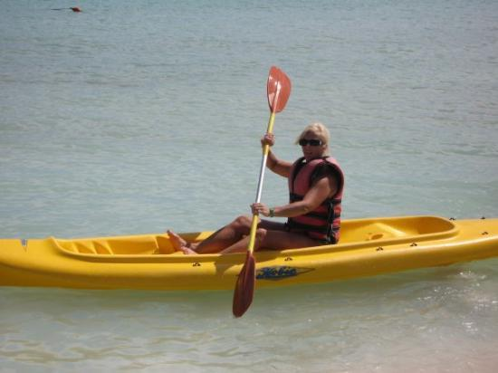 บาราเดโร, คิวบา: Sherry wanted to go kayaking, on our final day in Varadero, Cuba (Sep 08).