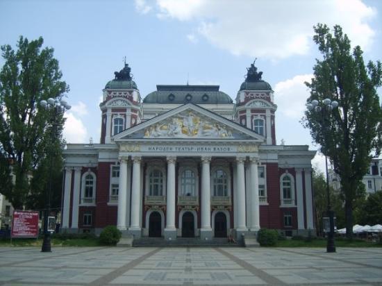 โซเฟีย, บัลแกเรีย: Ivan Vazov National Theatre