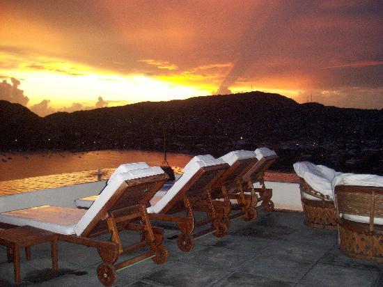 Tentaciones Hotel: Sunset at Hotel Tentaciones