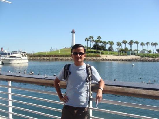 ลองบีช, แคลิฟอร์เนีย: Bến cảng khu Long Beach (chả thấy cái du thuyền nào mang tên mình cả! híc)